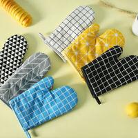 Single Oven Gloves Kitchen Cooking Pot Holder Thick Heat Resistant Mitt Mittens