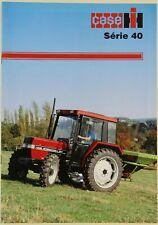 prospectus brochure tracteur CASE IH SERIE 40  tractor traktor prospekt cormick