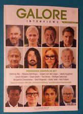 Galore Interviews 10/2017 mit Literatur-Beilage ungelesen 1A abs. TOP