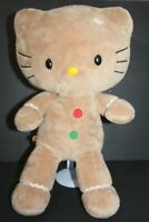 Build a Bear Hello Kitty Plush Gingerbread Christmas Holiday Stuffed Retired 19""