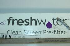 FreshWater Clean Screen Pre-Filter Vorfilter 20CS04 mit Abschlusshahn