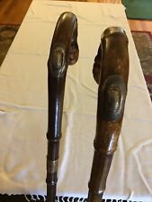 Antique Brigg Of London Gadget Cane And Umbrella Race Track Set