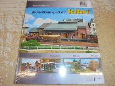 """Kibri 99907 Buch """"Modellbauspaß mit Kibri #NEU"""