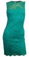 Spitzenkleid Minikleid MELROSE Gr 38 grün Kleid Spitze Abend Party NEU