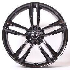 20 Zoll Alufelgen für Audi A6 4G Competition Schwarz Glänzend