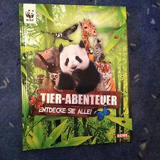 Sammelalbum Tier-Abenteuer Entdecke sie alle WWF komplett