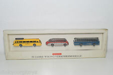 WIKING 50 JAHRE VERKEHRSMODELLE SETRA MERCEDES-BENZ BUSSING BUS MINT BOXED