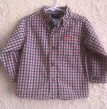 08fcda436f7 DICKIES Baby Boy Long Sleeve Button Shirt 24M