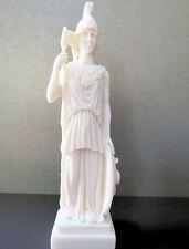 Ancient Greek Roman Goddess Athena Minerva (Decorative alabaster statue 19cm)