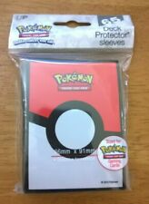 Pokemon Pokeball Deck Protector Sleeves For Pokemon Gaming Cards New Pack