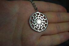 Black Sun Symbol Amulet pendant necklace symbol merch symbol patch vril t shirt