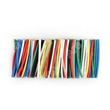 140Pcs 7 Colors 1mm Assorted 2:1 Heat Shrink Tubing Sleeving Wrap Cable 40mm BS5