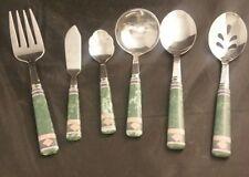 Pfaltzgraff AMALFI MEDITERRANEAN Butter Knife  ladle Fork Straining Spoon Lot
