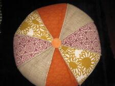 "Home Decor Throw Pillow Mixed Fabric & Colors Decorative Cushion 15"""