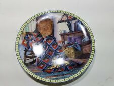 Knowles Plate 2149A Warm Retreat - Cozy Country Corners Fine China 1990