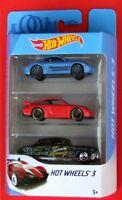 Hot Wheels 2018  PORSCHE CAYMAN S,  PORSCHE 911 GT2, HUDSON HORNET   NEU&OVP