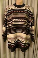 VINTAGE 80'S ~ ART WEAR ~ Textured Tunic JUMPER * Size L * REDUCED !!