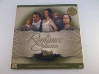 A&E Literary Classics Romance Collection Pride Prejudice Emma Jane Eyre DVD Set