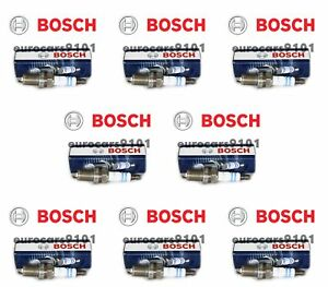 Volvo XC90 Bosch Spark Plugs 0242235749 0242235749 Set of 8