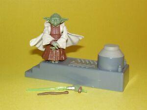 Star Wars ROTS Yoda Spinning Attack Loose