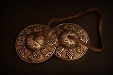 Tingsha Tibetan Cymbals Buddhist 2 Bells Meditation Om Chimes Dragon Prayer Luck
