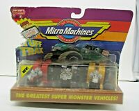 Micro Machines - Tuff Trax Collection #8 - UNOPENED PACK !!! - monster vehicles