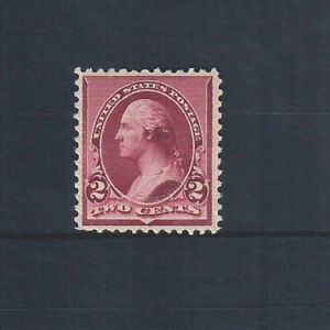 US Scott # 219D, MINT / VF/ LH with ORIGINAL GUM and GREAT COLOR!! SCV $170.00
