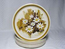5 Mikasa Daisy Mae Dinner Plates F5822, Stone Manor