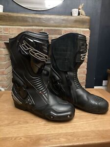 TCX S-Speed GTX Gore-tex Sports Motorcycle Motorbike Boots - Black RRP £219.99.