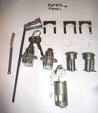 Ignition/Door/trunk/console/Glove Lock Set 1969 B-Body Charger GTX Mopar NOS KEY