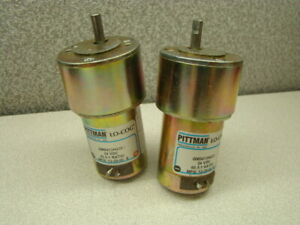 Pittman GM9413H435 Gear Motor, 24VDC, 65.5:1 Ratio, Lot of 2
