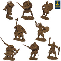 Runecraft Miniatures Toy Soldier Vikings 9th-11th Centuries Scale 1/32 Set #3