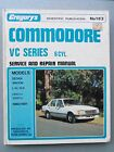 HOLDEN COMMODORE VC SERIES 6 CYL. WORKSHOP MANUAL 1980 - 1981