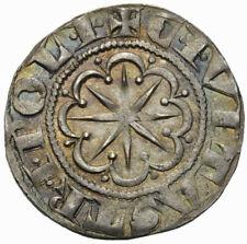 STATI DELLE CROCIARE - Crusaders - Tripoli - BOEMONDO VI moneta da un grosso