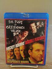 Mickey Rourke: Pope of Greenwich Village/Desperate Hours (Rare OOP Blu Ray)