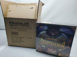 FULL Case with BONUS PROMO Warhammer Doomseeker Board Game New! LOT OF 6 Games
