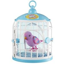 Little Live Pets Bird and Cage, Kids Fun Electronic Toy Friend