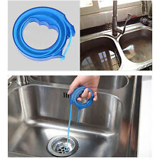 Hot Snake Drain Sink Cleaner Slow Removes Clogged Hairs Bathroom Kitchen Tool