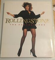 ROLLING STONE THE PHOTOGRAPHS 1989 COFFEE TABLE BOOK TINA TURNER COVER