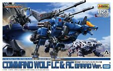 [FROM JAPAN]HMM ZOIDS Command Wolf LC & AC Barad Custom Plastic Model Kotobu...