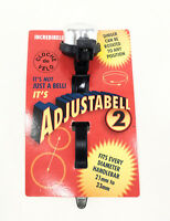 Mirrycle Incredibell Adjustabell 2 Bike Bell, Silver