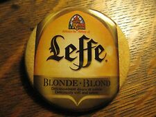 Leffe Blonde Beer Brewery Belgium Bottle Advertisement Lipstick Pocket Mirror