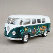 1962 Volkswagen Classic Kombi Combi Microbus Hippy Van Peace Love Green