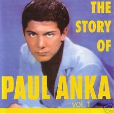 PAUL ANKA - The Story of Paul Anka Volume 1 - POP CD