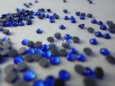 1000 Hotfix Strasssteine, *Cobalt/Blau*, SS16~3,8-4mm, Super Qualität