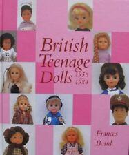 BOOK/LIVRE : BRITISH TEENAGE DOLL / POUPÉE BRITANNIQUE (vintage,50s,60s,70s)