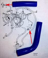 Volvo 850 S70 V70 C70 turbocharger coolant  hose set silicone