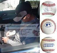 Braden Looper Cardinals Signed Autograph Baseball Marlins Mets Brewers Proof COA
