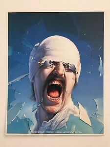 GOTTFRIED HELNWEIN,SELF PORTRAIT,MEGA RARE AUTHENTIC 1982 ART PRINT