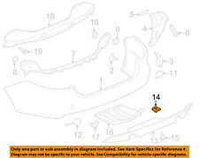 JAGUAR OEM 10-18 XJ Front Bumper-Outer Grille Nut C2C35071
